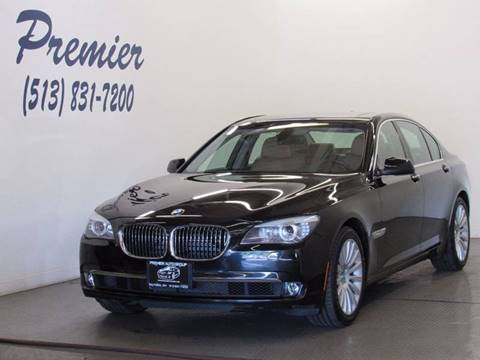 2012 BMW 7 Series for sale at Premier Automotive Group in Milford OH