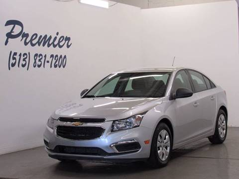2015 Chevrolet Cruze for sale at Premier Automotive Group in Milford OH