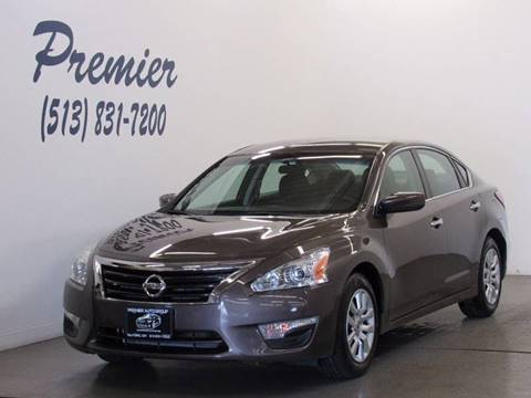 2014 Nissan Altima for sale at Premier Automotive Group in Milford OH