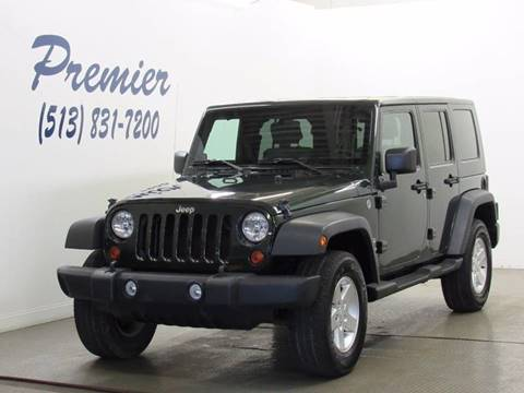 2010 Jeep Wrangler Unlimited for sale at Premier Automotive Group in Milford OH