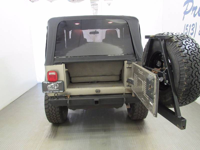 2006 Jeep Wrangler for sale at Premier Automotive Group in Milford OH