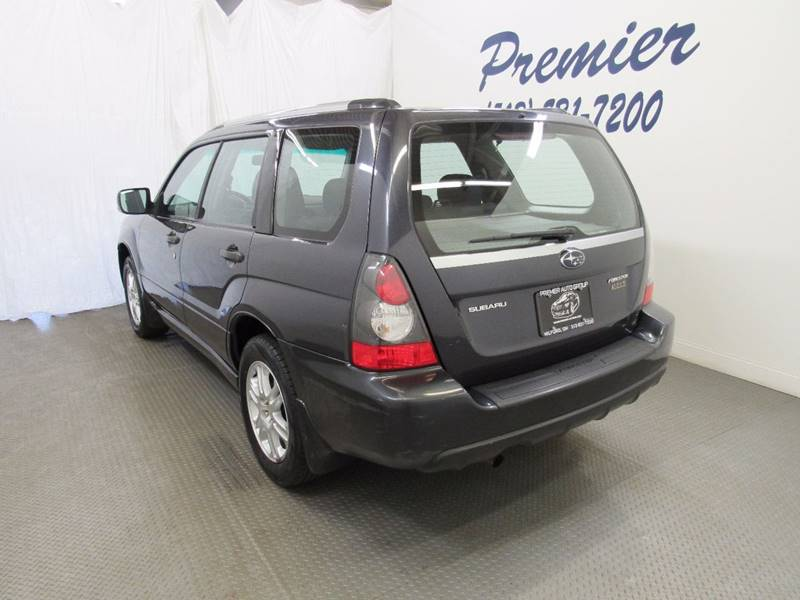 2008 Subaru Forester for sale at Premier Automotive Group in Milford OH