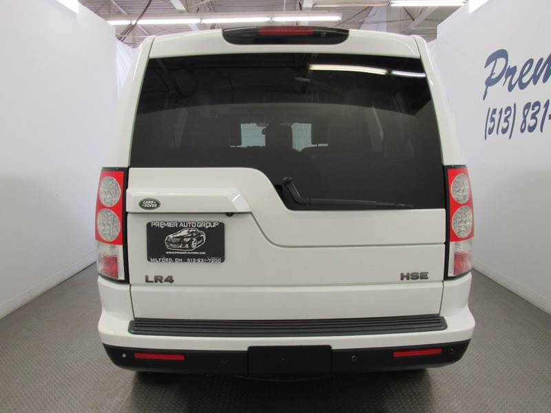 2011 Land Rover LR4 for sale at Premier Automotive Group in Milford OH