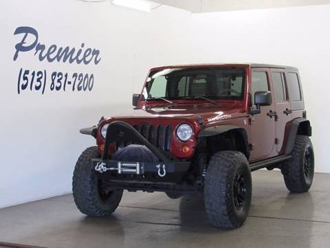 2008 Jeep Wrangler Unlimited for sale at Premier Automotive Group in Milford OH