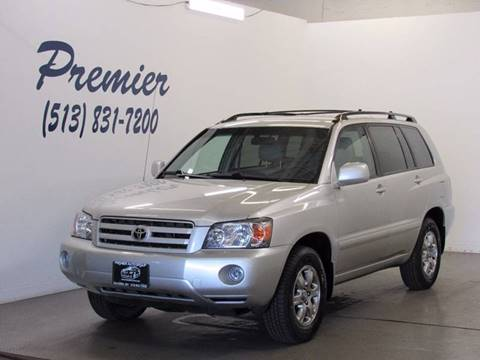 2005 Toyota Highlander for sale at Premier Automotive Group in Milford OH