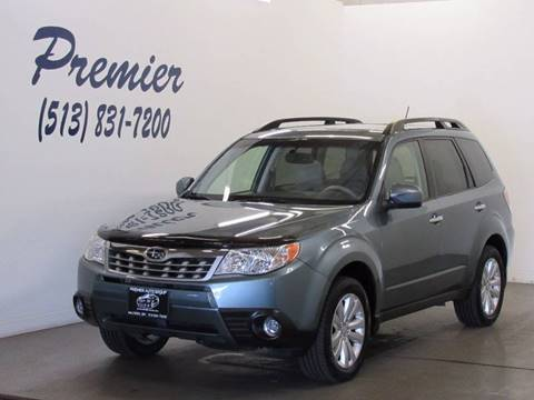 2013 Subaru Forester for sale at Premier Automotive Group in Milford OH