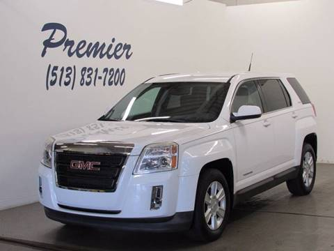 2010 GMC Terrain for sale at Premier Automotive Group in Milford OH