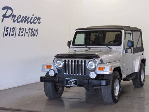 2005 Jeep Wrangler for sale at Premier Automotive Group in Milford OH