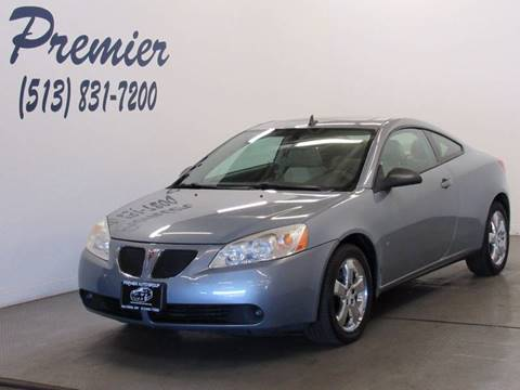 2008 Pontiac G6 for sale at Premier Automotive Group in Milford OH