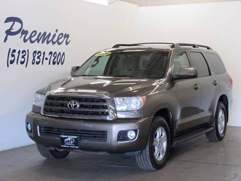 2008 Toyota Sequoia for sale at Premier Automotive Group in Milford OH