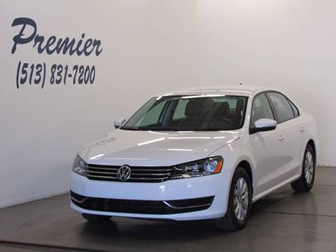 2014 Volkswagen Passat for sale at Premier Automotive Group in Milford OH