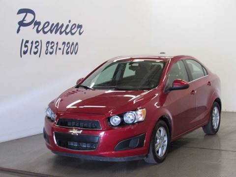 2015 Chevrolet Sonic for sale at Premier Automotive Group in Milford OH