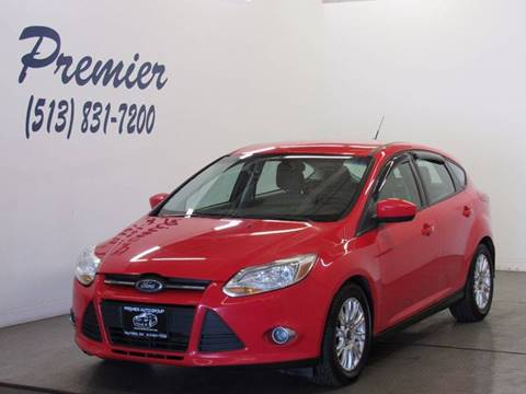 2012 Ford Focus for sale at Premier Automotive Group in Milford OH