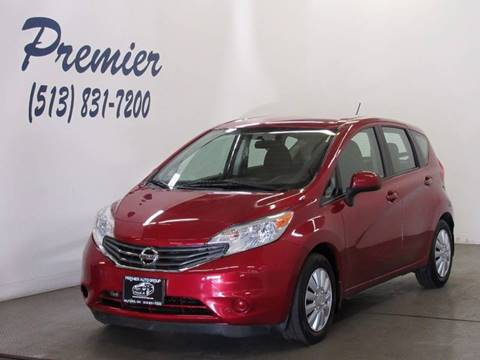 2014 Nissan Versa Note for sale at Premier Automotive Group in Milford OH