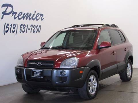 2007 Hyundai Tucson for sale at Premier Automotive Group in Milford OH