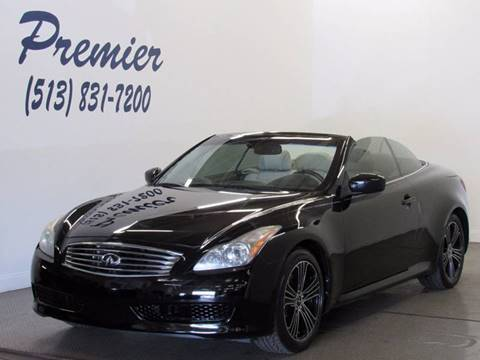 2009 Infiniti G37 Convertible for sale in Milford, OH