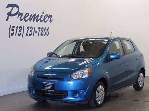 2015 Mitsubishi Mirage for sale in Milford, OH
