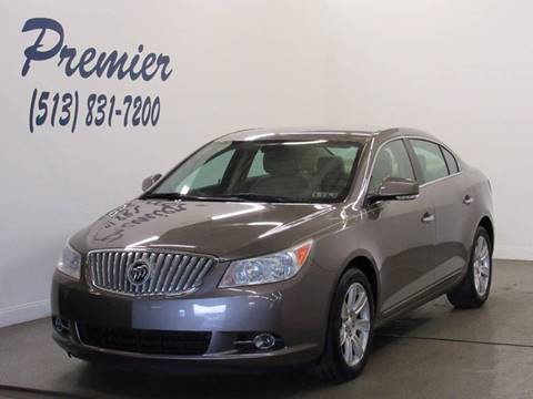 2011 Buick LaCrosse for sale at Premier Automotive Group in Milford OH