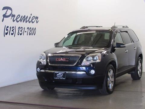 2011 GMC Acadia for sale at Premier Automotive Group in Milford OH