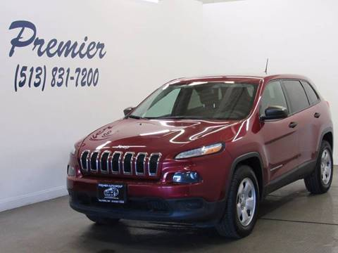 2014 Jeep Cherokee for sale in Milford, OH