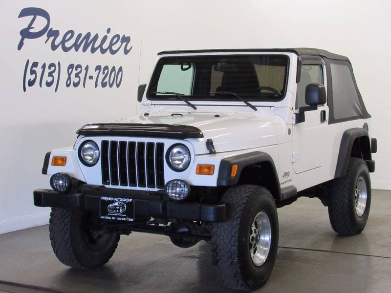2004 Jeep Wrangler For Sale At Premier Automotive Group In Milford OH