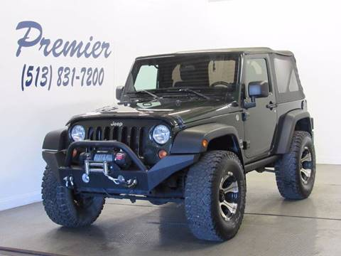 2011 Jeep Wrangler for sale at Premier Automotive Group in Milford OH