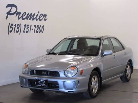 2003 Subaru Impreza for sale in Milford, OH