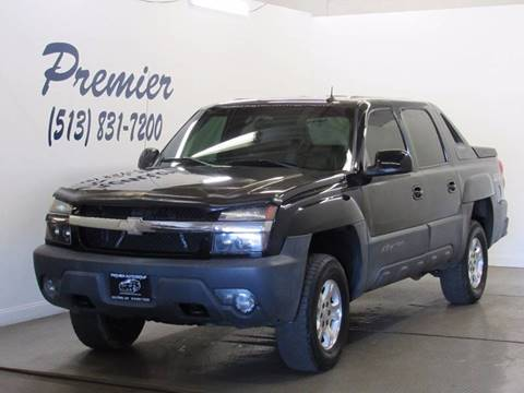 2003 Chevrolet Avalanche for sale at Premier Automotive Group in Milford OH