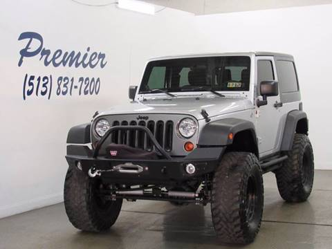 2012 Jeep Wrangler for sale in Milford, OH