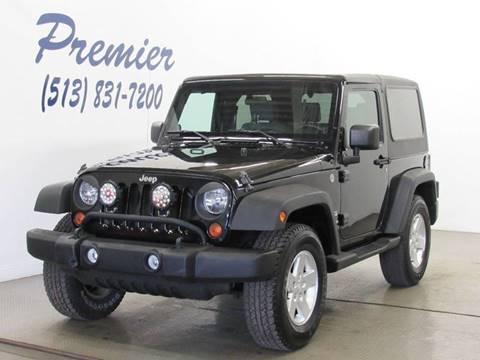 2010 jeep wrangler for sale in milford oh. Black Bedroom Furniture Sets. Home Design Ideas