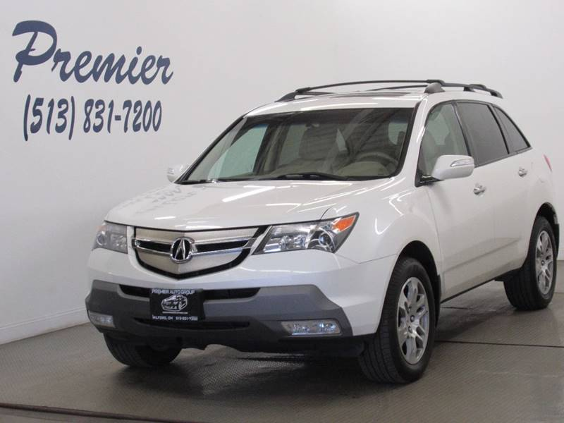 Acura MDX SHAWD WTech WRES In Milford OH Premier - Acura mdx 2007 price
