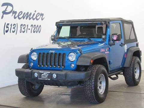 2015 Jeep Wrangler for sale in Milford, OH