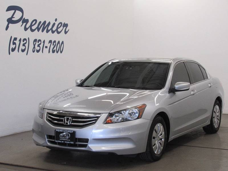 2012 Honda Accord For Sale At Premier Automotive Group In Milford OH