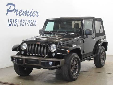 2016 Jeep Wrangler for sale in Milford, OH