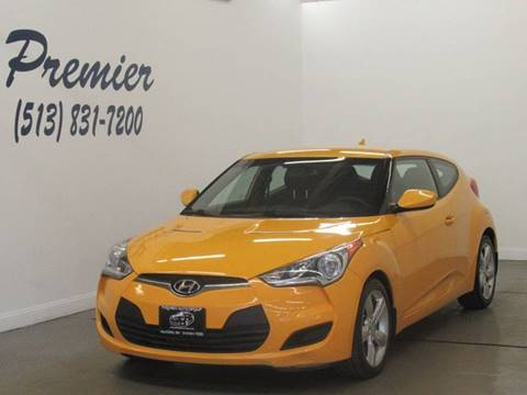 2012 Hyundai Veloster for sale at Premier Automotive Group in Milford OH