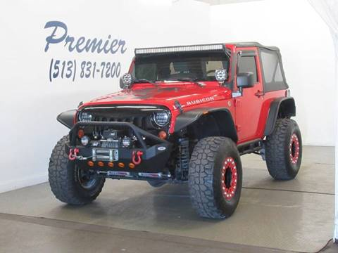 2009 Jeep Wrangler for sale at Premier Automotive Group in Milford OH
