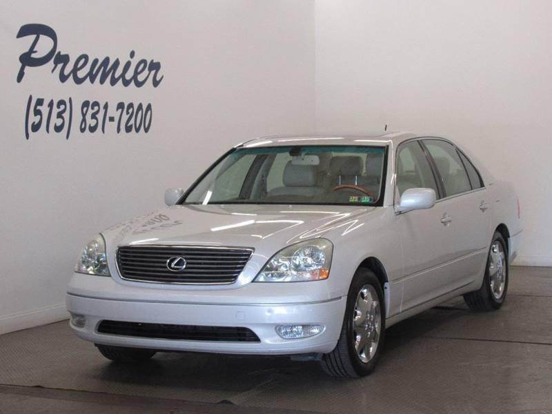 2002 Lexus LS 430 For Sale At Premier Automotive Group In Milford OH