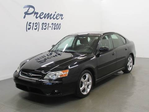 2006 Subaru Legacy for sale at Premier Automotive Group in Milford OH
