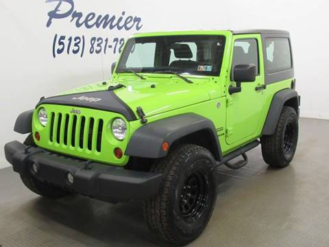 2013 Jeep Wrangler for sale in Milford, OH