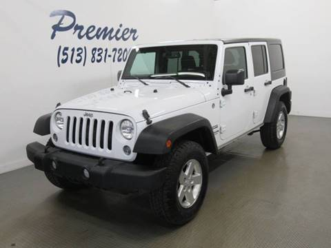 2014 Jeep Wrangler Unlimited for sale in Milford, OH