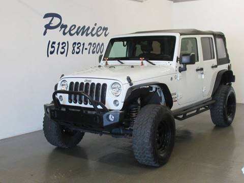 2016 Jeep Wrangler Unlimited for sale in Milford, OH