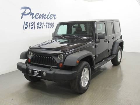 2012 Jeep Wrangler Unlimited for sale in Milford, OH