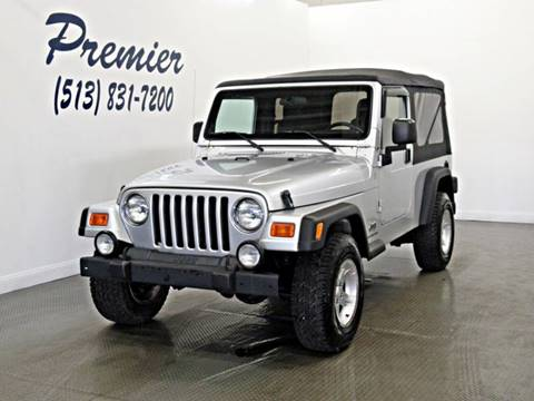 2004 Jeep Wrangler for sale in Milford, OH