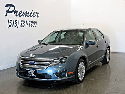 2011 Ford Fusion Hybrid for sale at Premier Automotive Group in Milford OH