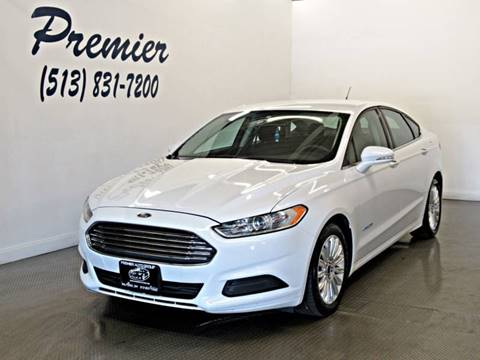 2013 Ford Fusion Hybrid for sale in Milford, OH