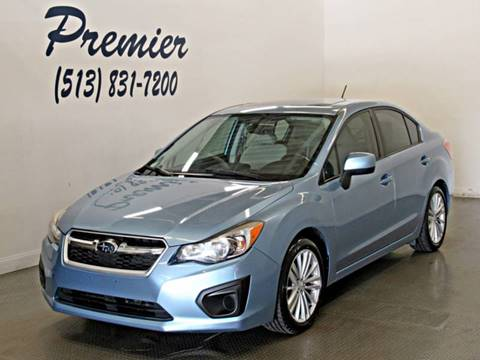 2012 Subaru Impreza for sale at Premier Automotive Group in Milford OH
