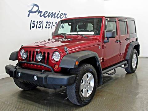2011 Jeep Wrangler Unlimited for sale in Milford, OH