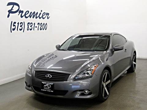 2013 Infiniti G37 Coupe x for sale at Premier Automotive Group in Milford OH