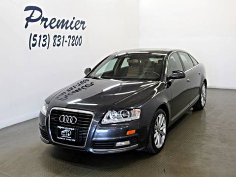 2009 Audi A6 3.0T quattro for sale at Premier Automotive Group in Milford OH
