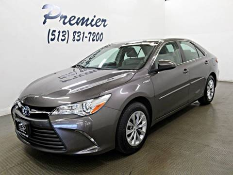 2016 Toyota Camry Hybrid for sale at Premier Automotive Group in Milford OH
